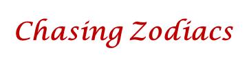 Chasing Zodiacs