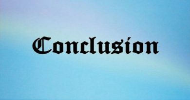 Chapter 16 – Conference Conclusion